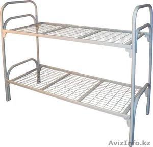 Кровати металлические с ДСП спинками для санаториев, кровати для больниц, оптом.. - Изображение #2, Объявление #1421171