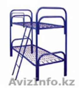Кровати металлические для казарм, кровати трёхъярусные для рабочих, оптом. - Изображение #1, Объявление #1428546