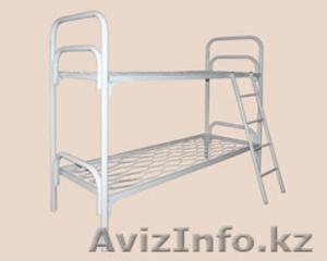 Кровати металлические для казарм, кровати трёхъярусные для рабочих, оптом. - Изображение #3, Объявление #1428546