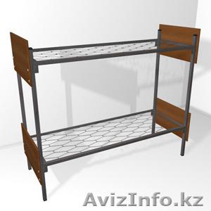 Кровати металлические одноярусные, кровати металлические двухъярусные, оптом. - Изображение #4, Объявление #1433333