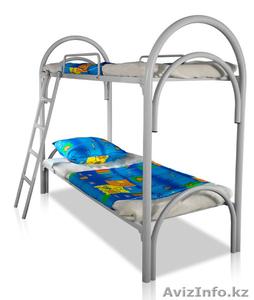Кровати металлические одноярусные, кровати металлические двухъярусные, оптом. - Изображение #5, Объявление #1433333