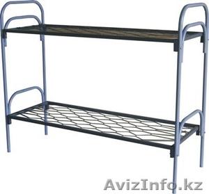 Кровати металлические для времянок, кровати металлические для рабочих, дёшево. - Изображение #3, Объявление #1435293