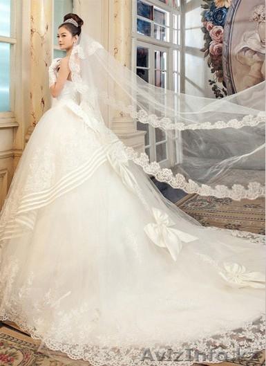 Изобр по > Шикарное Свадебное Платье 2014